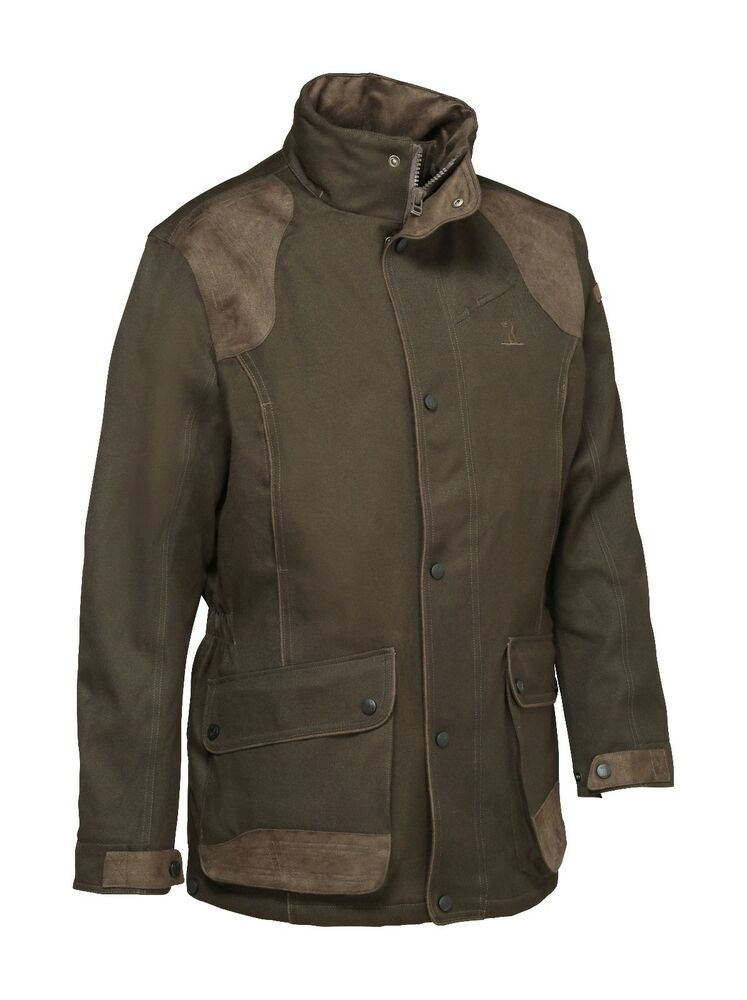8c1a76382ff74 Percussion Men's Sologne Skintane Jacket Brown Warm Country Hunting  shooting   eBay