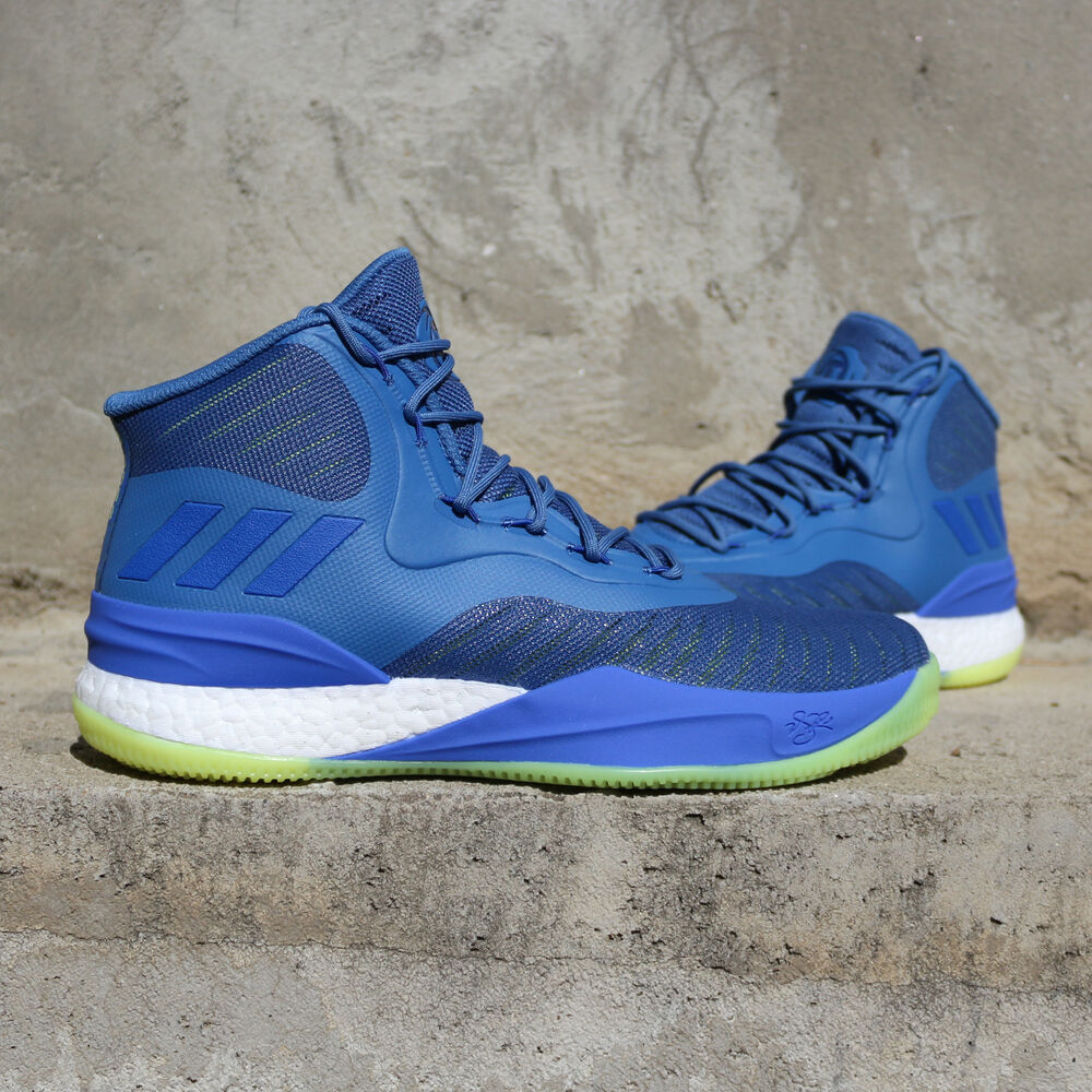 Details about adidas D Rose 8 CQ0850 Blue Yellow Green Sprite Bulls  Timberwolves Basketball DS 6f241a3d1