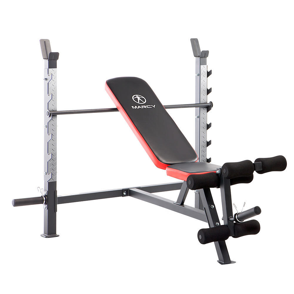 Multi Position Olympic Weight Bench Adjustable Leg