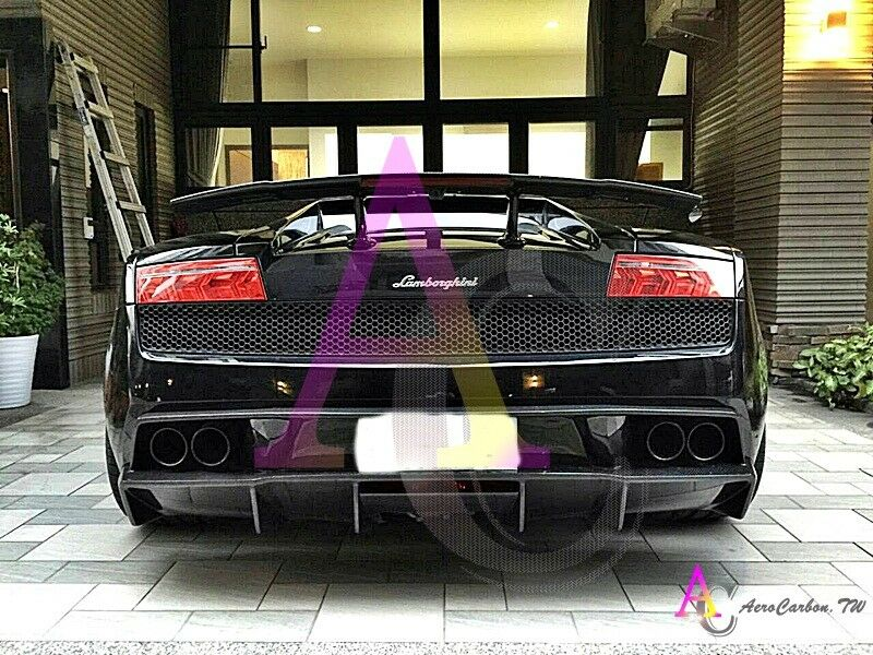 Lamborghini Gallardo 2004 Up High Quality Carbon Fiber Rear