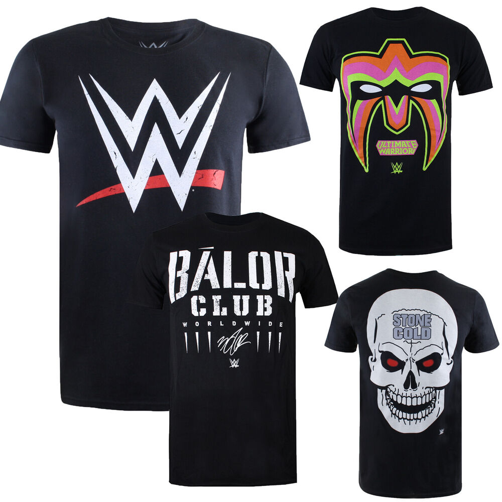 b7914241f Details about WWE Wrestling - OFFICIAL Licensed Mens T-Shirts - 20+ Designs  - Sizes S-XXL