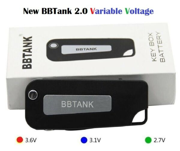 BBTank 2.0 Variable Voltage Pen BB Tank PreHeat 510 Threading Key Fob