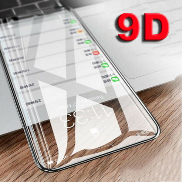 For OnePlus 6T 6 5 5T 6D Curved Full Coverage Tempered Glass Screen Protector X3