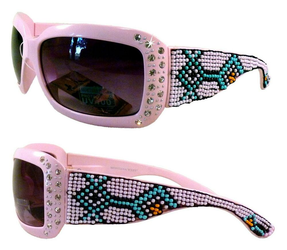64eb76275ec Montana west sunglasses beautiful aztec beading and bling ebay jpg 1000x871  Pink camo montana west sunglasses