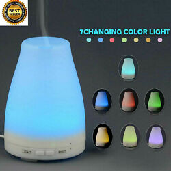 Kyпить 100ml Essential Oil Diffuser Humidifier Aromatherapy Ultrasonic 7 LED Aroma Mist на еВаy.соm