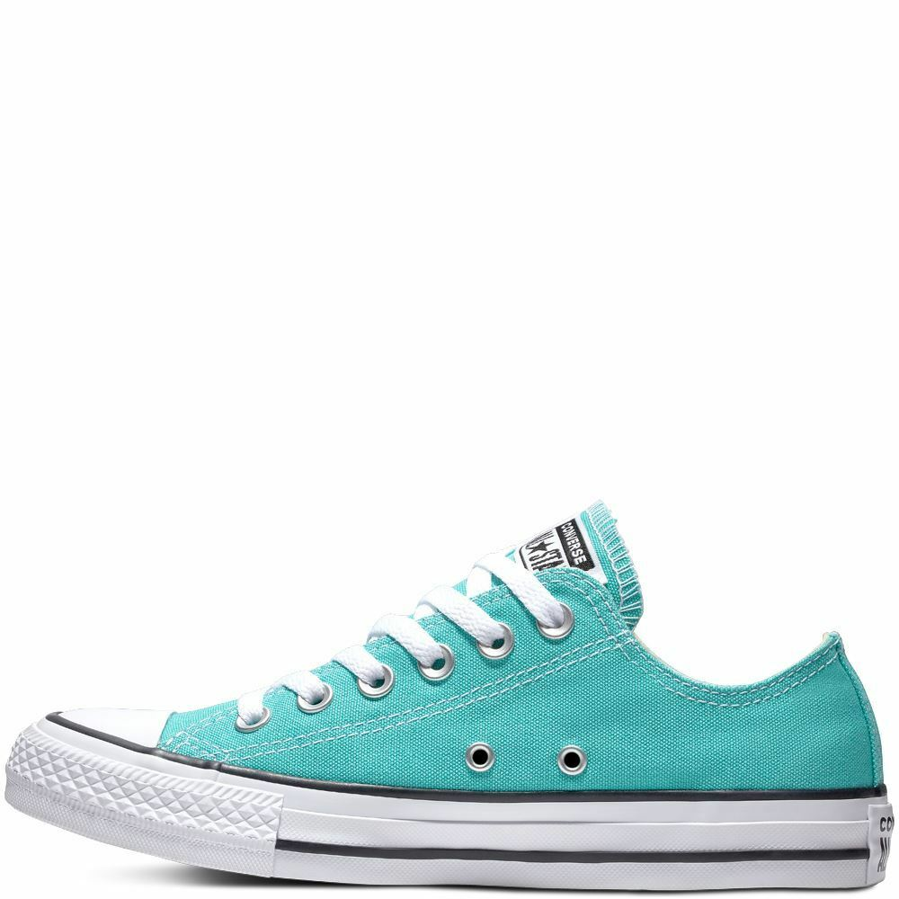 Details about Converse Chuck Taylor All Star Classic Low Top Pure Teal  Women s UK 3-7 7746379b0