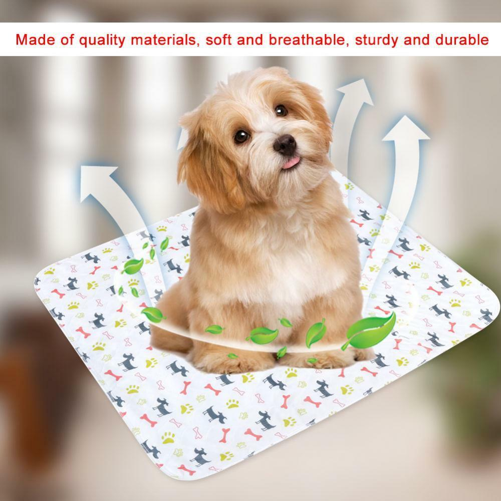 My Dog Peed On My Rug: Waterproof Reusable Dog Bed Mats Urine Pad Puppy Pee Rug
