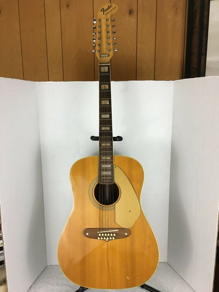 1970 fender shenandoah vintage 12 string guitar ebay. Black Bedroom Furniture Sets. Home Design Ideas