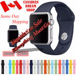Silicone Replacement Strap For Apple Watch Band 42mm/38mm all series 1 2 3
