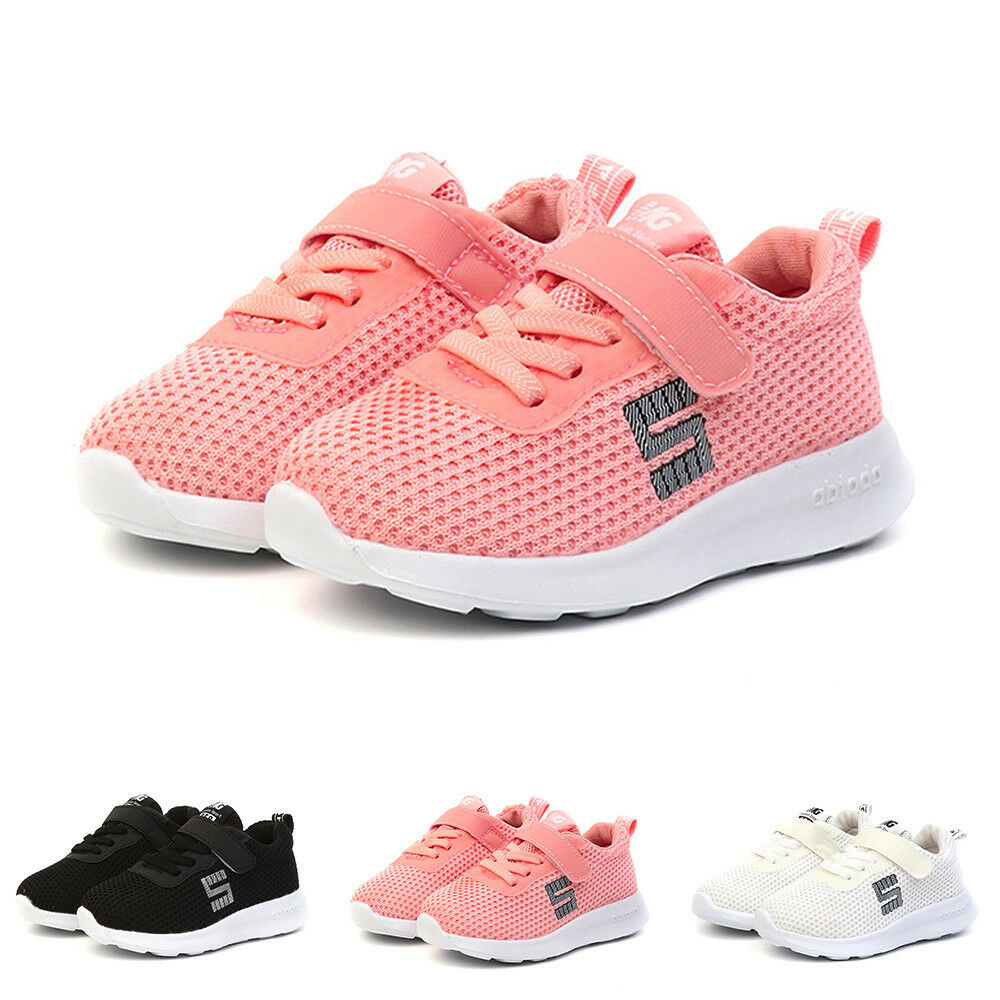 Toddler Kids Sport Running Baby Shoes Boys Girls Letter ...