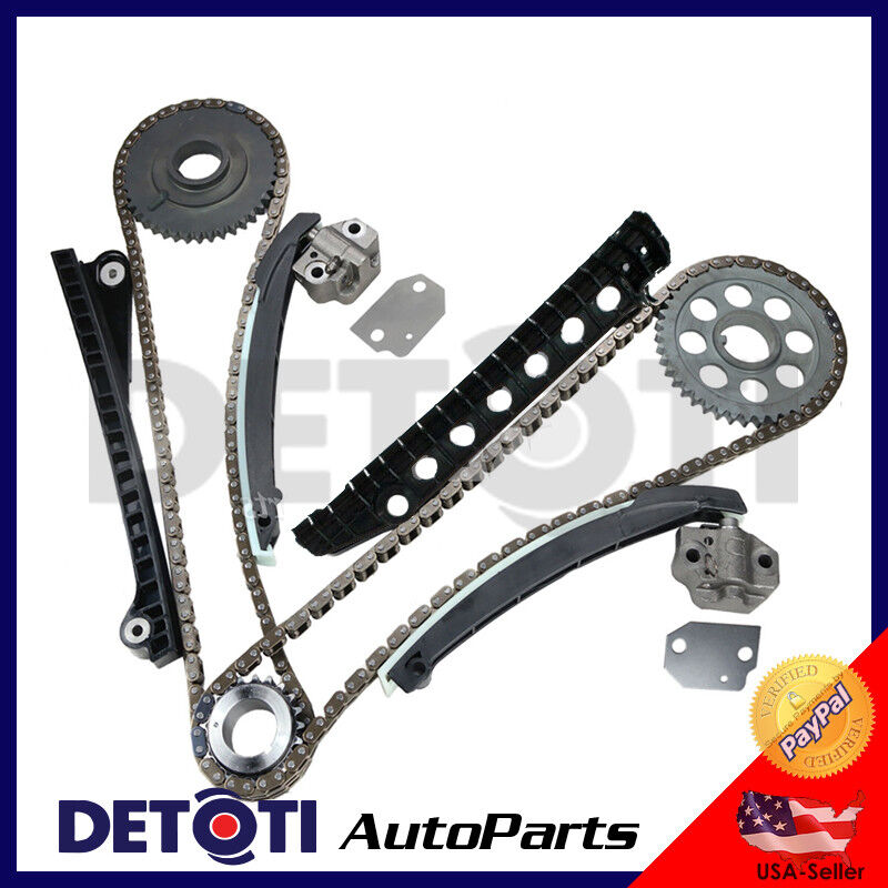 Timing Chain Kit For 09-14 5.4L V8 SOHC 16V Ford E150 E250