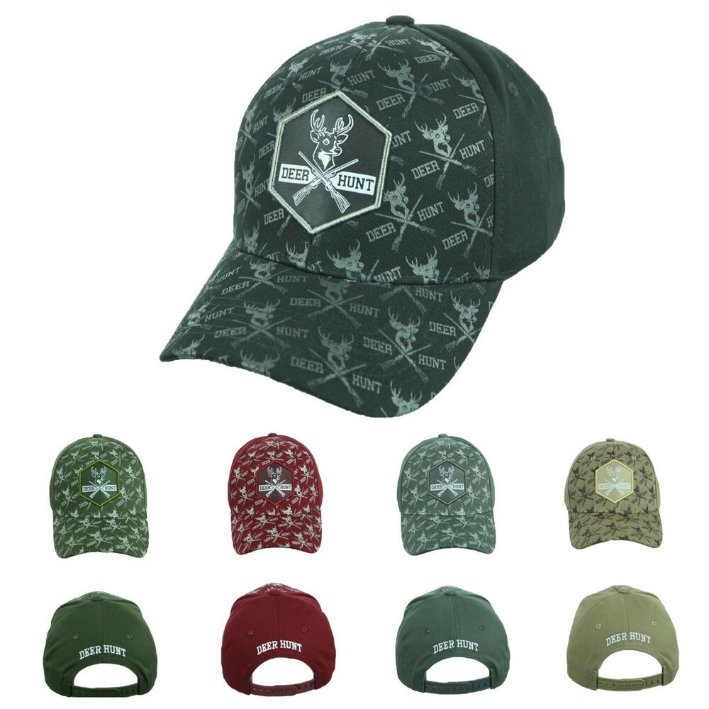 56364f75c83 Baseball Cap Deer Hunt Caps Snapback Cotton Hat Hunting Sports Adjustable  Hats