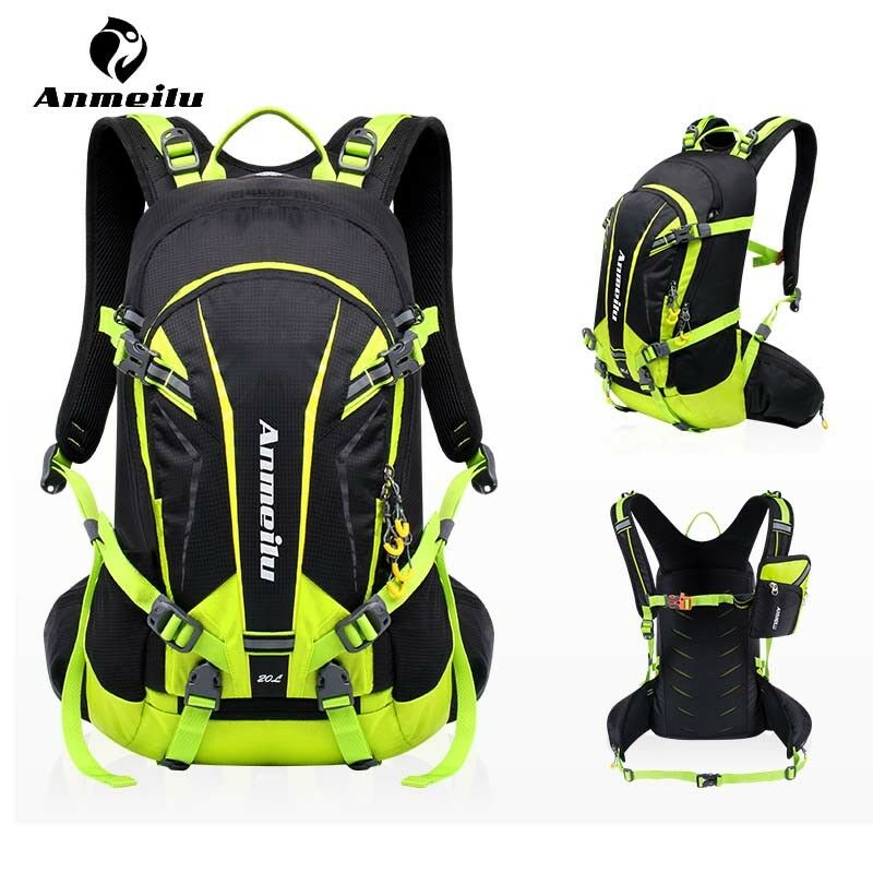 af2d4cdc70 Details about ANMEILU 20L Waterproof Climbing Hiking Backpack Cycling 2L  Water Bladder Bag