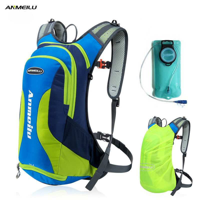63ae7871f3 Details about ANMEILU 10L Waterproof Camping Backpack 2L Water Bag Outdoor  Cycling Backpack