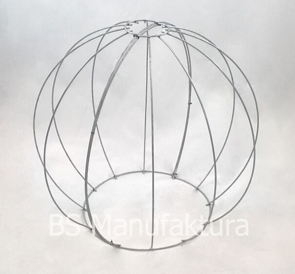 Topiary metal wire frame BALL GLOBE 50cm buxus boxwood balls pruning ...