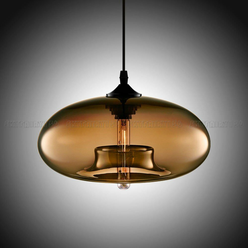 Modern colored glass ceiling light fixture pendant lamp home decoration be ebay