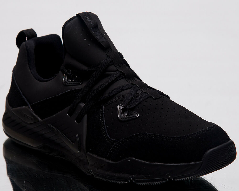 677510f0a92 Details about Nike Zoom Train Command Leather Men Training Shoes Black Sneakers  AA3984-006