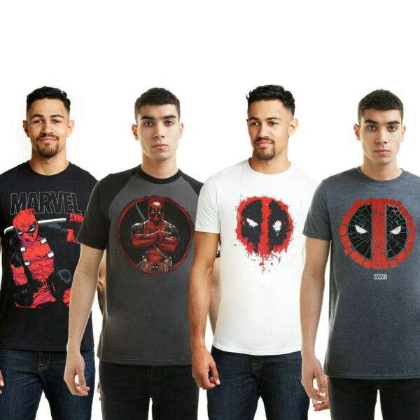 Marvel - Deadpool - Men's T-Shirt - Official - Size S-XXL