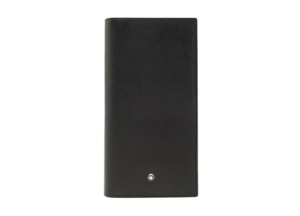 MONTBLANC Sartorial 12 CC Leather Wallet #113207 with Free Tracking No.