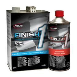 Kyпить Acme FC720-1 Ultimate Overall Clearcoat Gallon Kit w/ Finish 1 Medium Hardener на еВаy.соm
