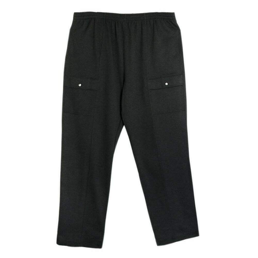 f3a271c636 LD Sport Big and Tall French Terry Fully Elastic Jersey Cargo Pants | eBay