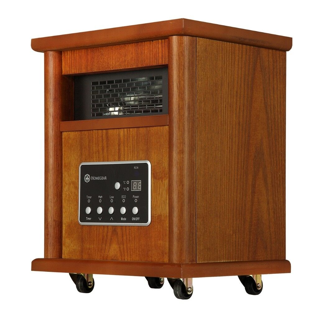 Homegear 1500 Sqft Infrared Electric Portable Space Heater