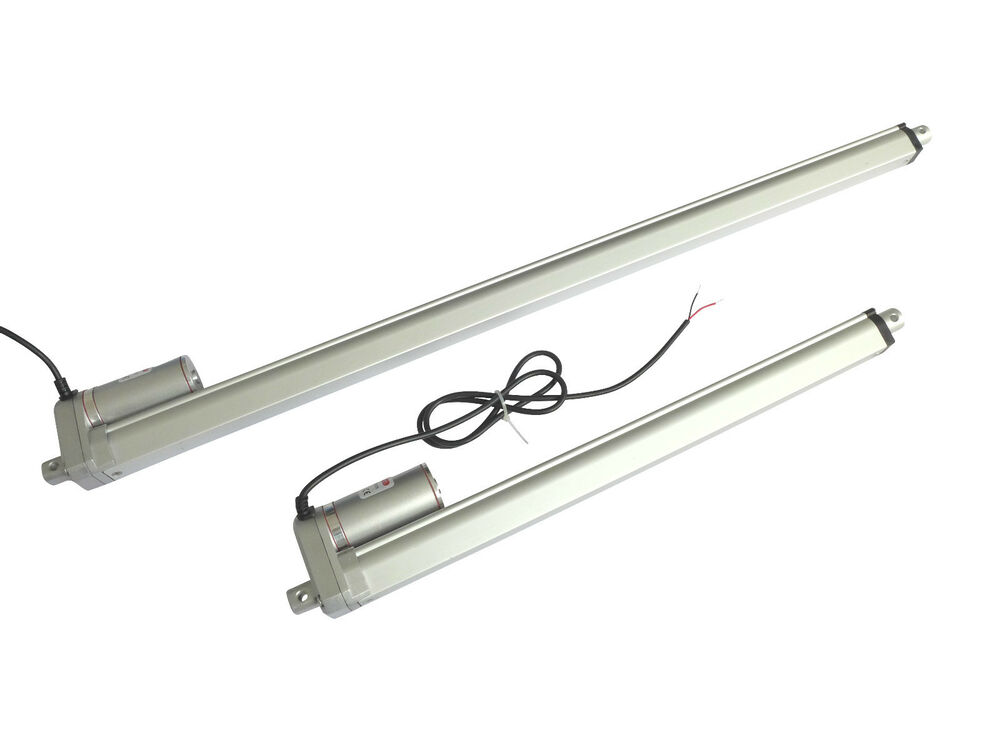 Details About B Grade 12v Dc Long 61kg 134lbs Force Linear Actuator Electric Piston Motor