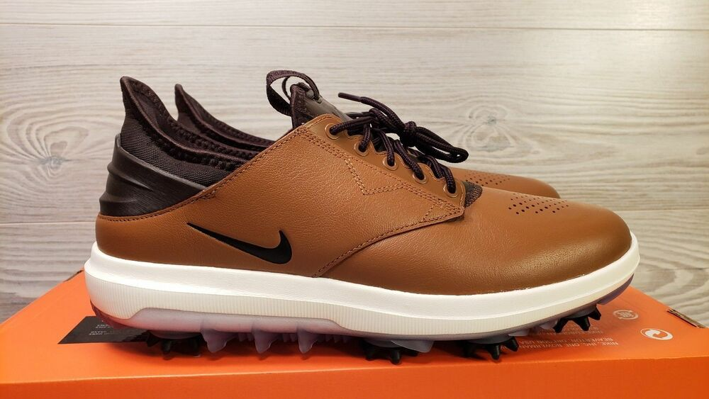 28452774263 Details about Nike Air Zoom Direct LT British Tan Brown Men s Golf Trainers  Shoes 9 10 10.5 11