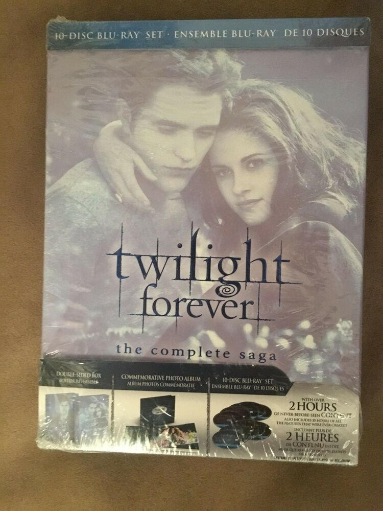 Twilight Forever The Complete Saga Blu Ray 10 Disc Set 2013