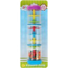 Colorful Rainmaker Rain Stick Instrument Rattle Toy ~FREE SHIPPING!!~