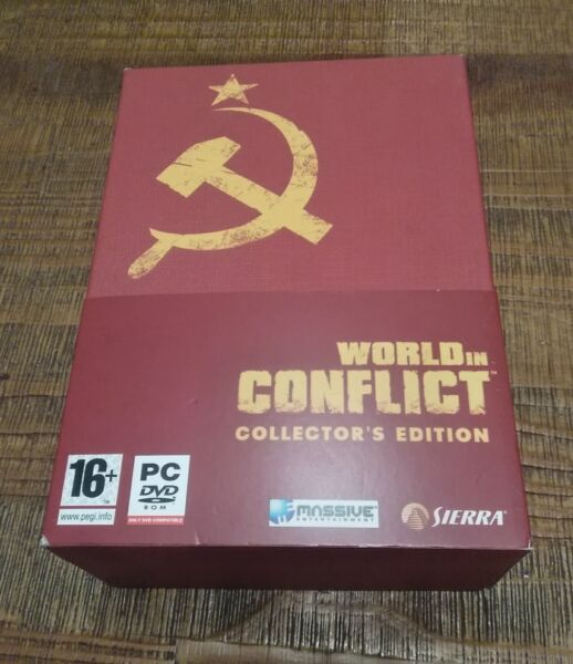 Jeu Vidéo Pc Neuf World In Conflict Édition Collector neuf