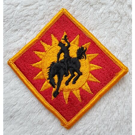 img-US ARMY PATCH 115th Field Artillery Brigade Class A Uniform Badge United States