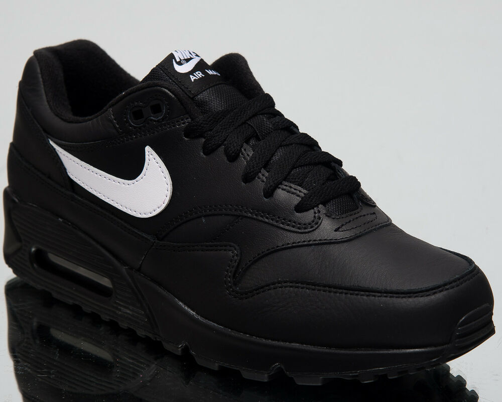 meet 556f7 30570 Details about Nike Air Max 90 1 New Men Lifestyle Shoes Black White 2018  Sneakers AJ7695-001