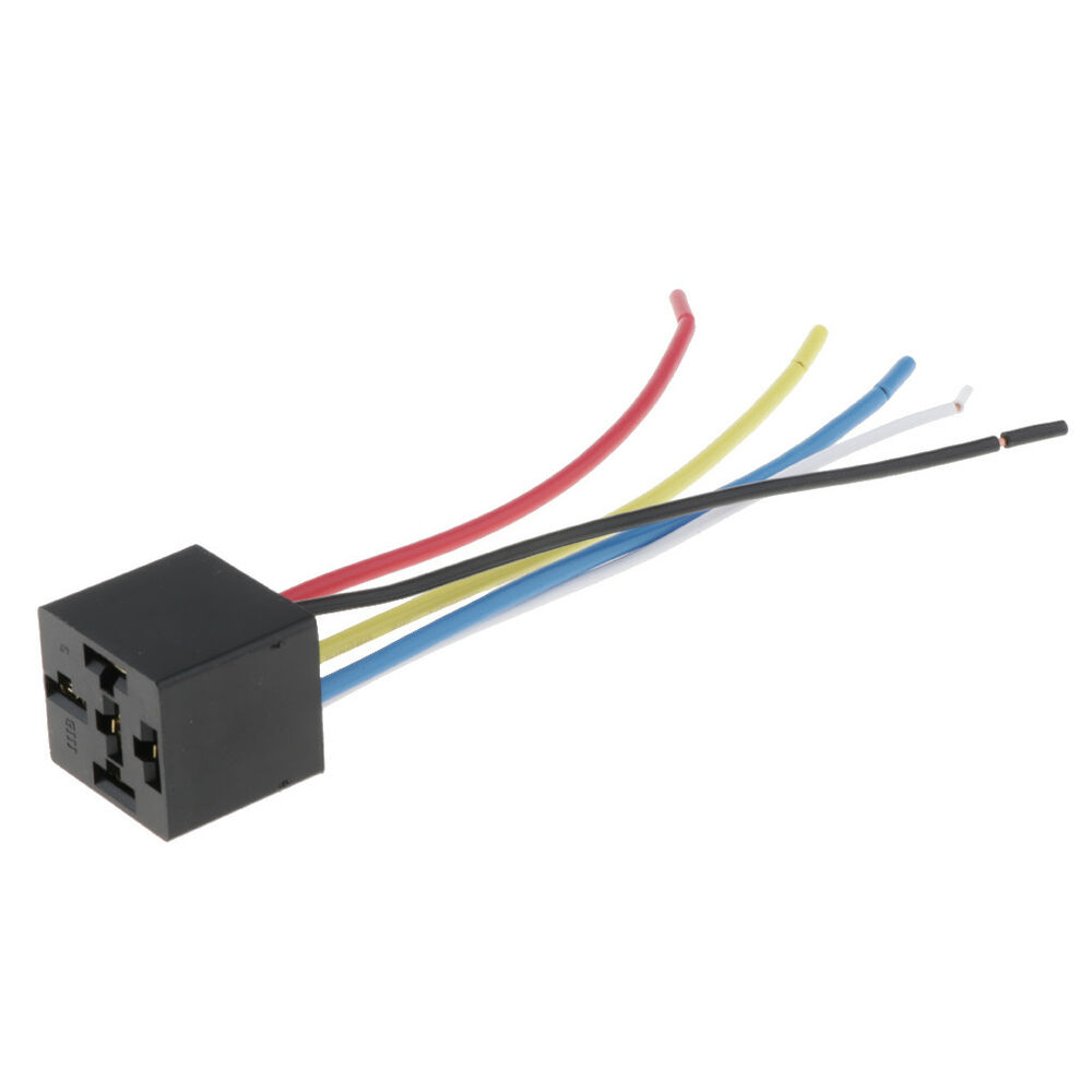 Enjoyable Car Automotive Truck 5 Pin 12V 80 Amp Spdt Relay Harness Socket For Wiring Digital Resources Xeirawoestevosnl