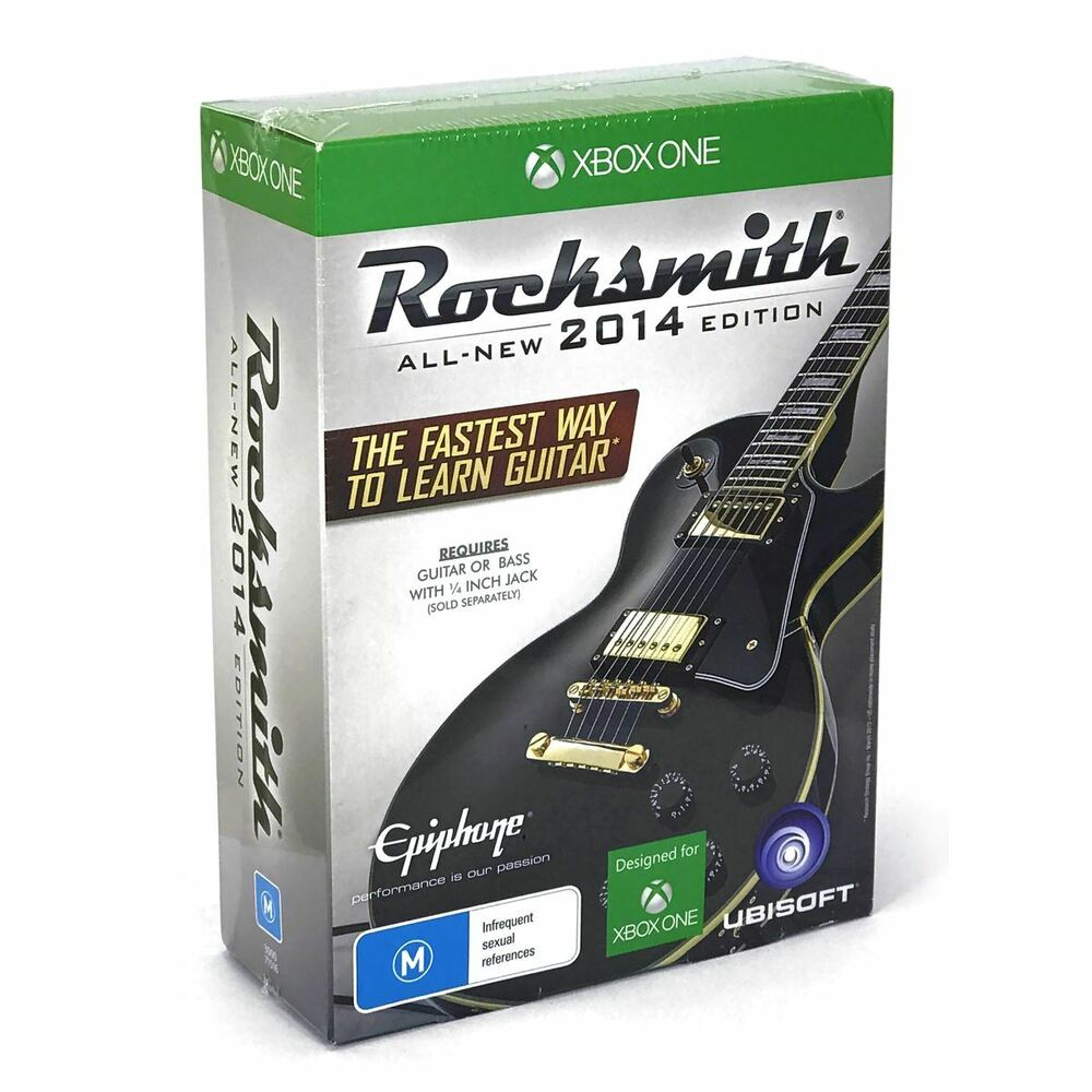 new xbox one rocksmith 2014 edition w real tone cable. Black Bedroom Furniture Sets. Home Design Ideas