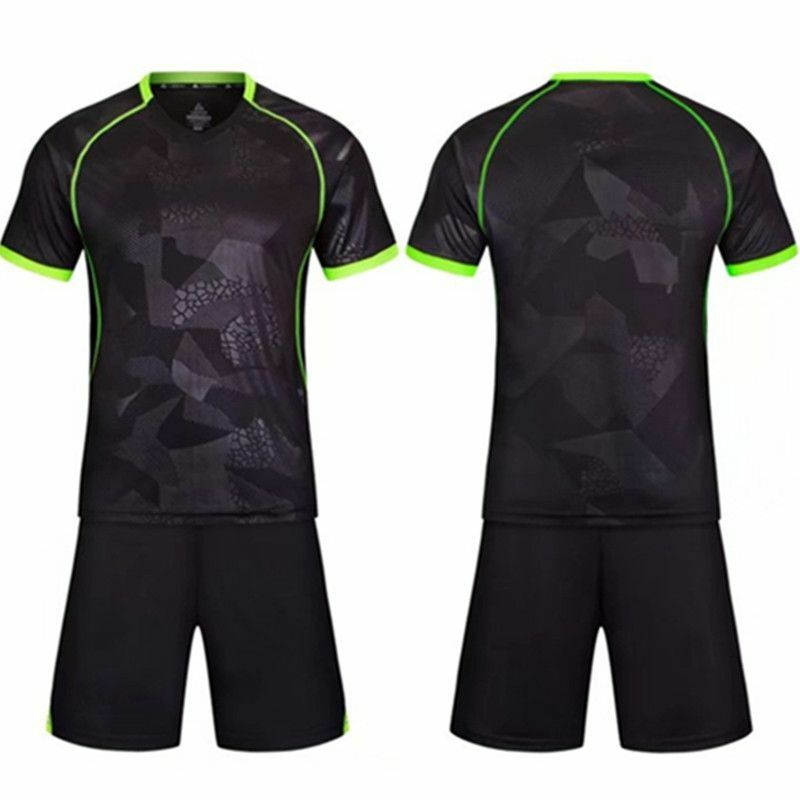 41f8b6678 Details about Children & Men Football Jerseys Soccer Boys Set Training Team  Suits Kids Uniform