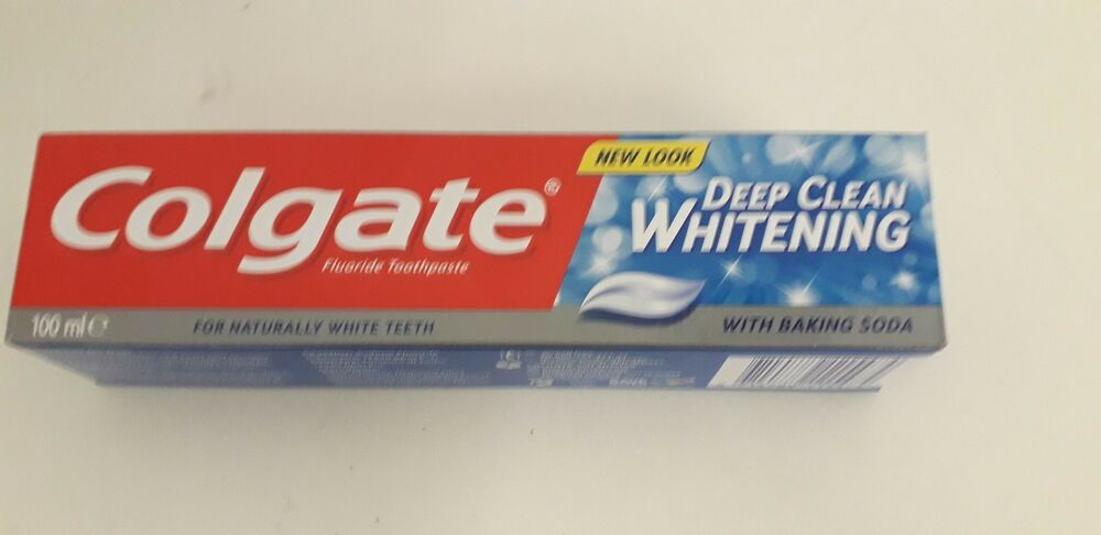 Colgate Deep Clean Whitening Toothpaste With Baking Soda 100ml In 6