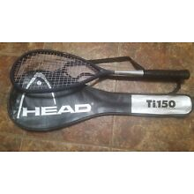 New Head Ti.150 squash racquet with a new grip made in Austria