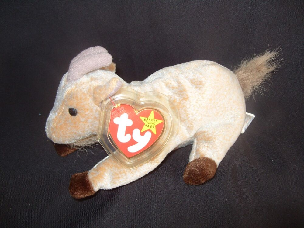 Details about TY BEANIE BABY GOATEE - THE GOAT - MINT - RETIRED 1b0ed0f6a98