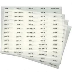 Kyпить Littleton Coin Album Date Labels 2009-2020 Adhesive Year Stickers 220 Labels NEW на еВаy.соm
