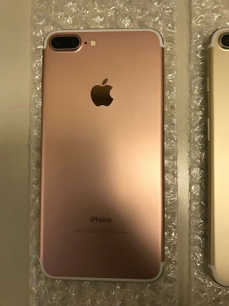 Rose Gold Iphone 7 Plus 256gb Unlocked Gsm Clean Imei Ebay