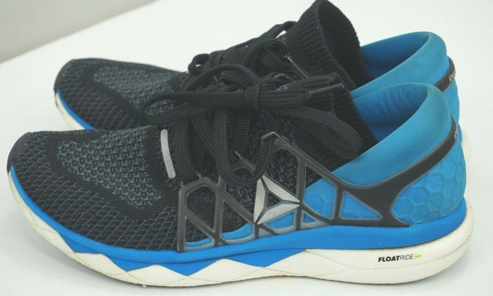Details about Reebok Floatride Run Ultk Seed Mens Black Mesh Athletic Running  Shoes Size 10 c7265238c