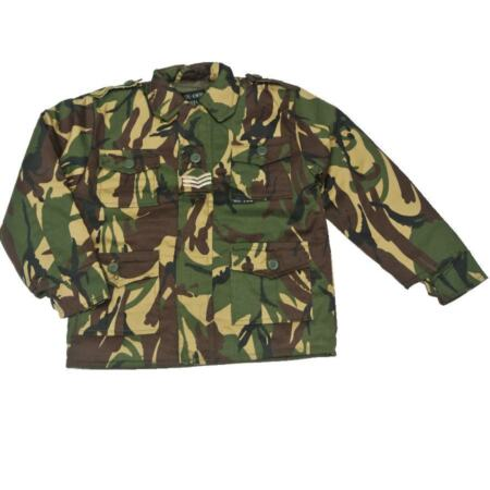 img-Camo Combat Jacket Children's Woodland M65 Style Kids DPM Safari Jacket Coat New