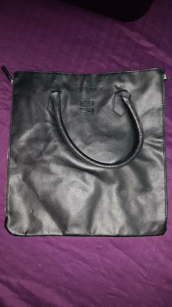 26374a1a2c8e Details about Givenchy Perfums Leather Bag