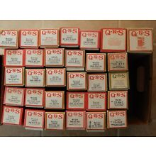 Player Piano QRS Word Rolls Instrument Rolls Previously Played - Choose 1 Title
