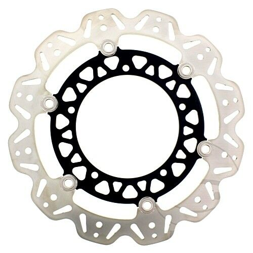 Brake Disc Vee Front Ebc Vee Rotor Black Vr2105blk For Yamaha Yzf R6