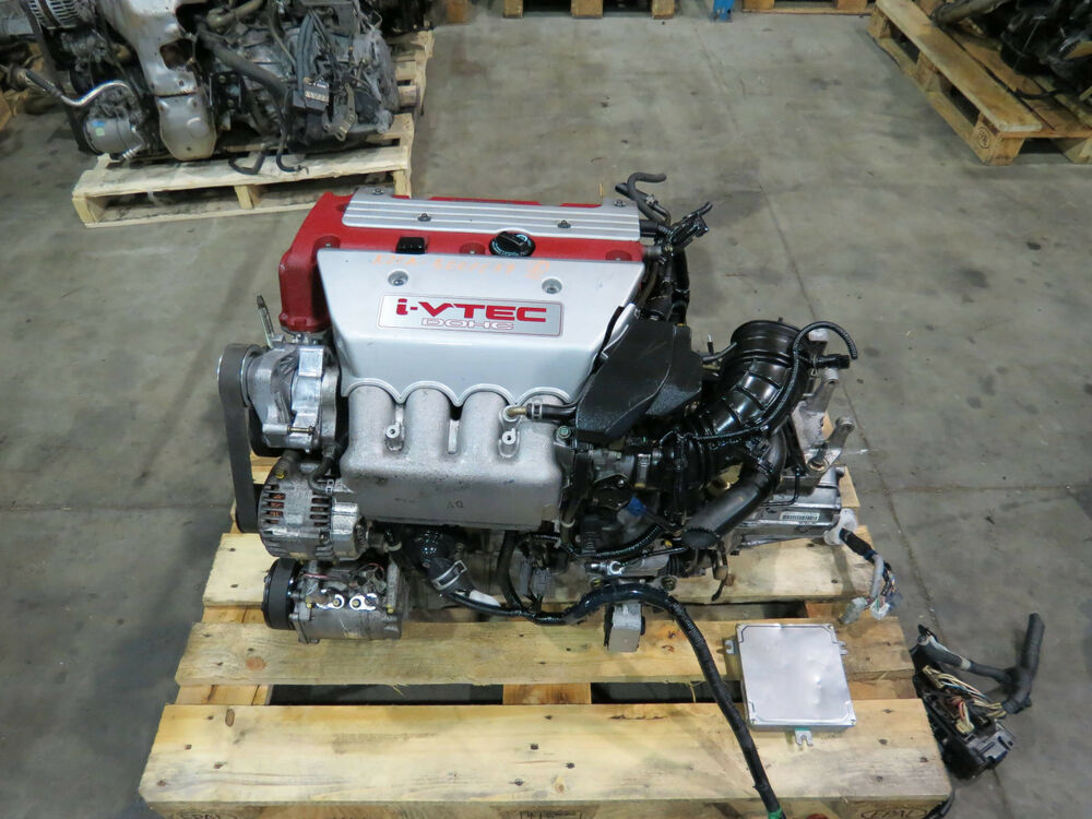 Jdm K20a Type R Engine Amp 6 Speed Lsd Transmission 02 05