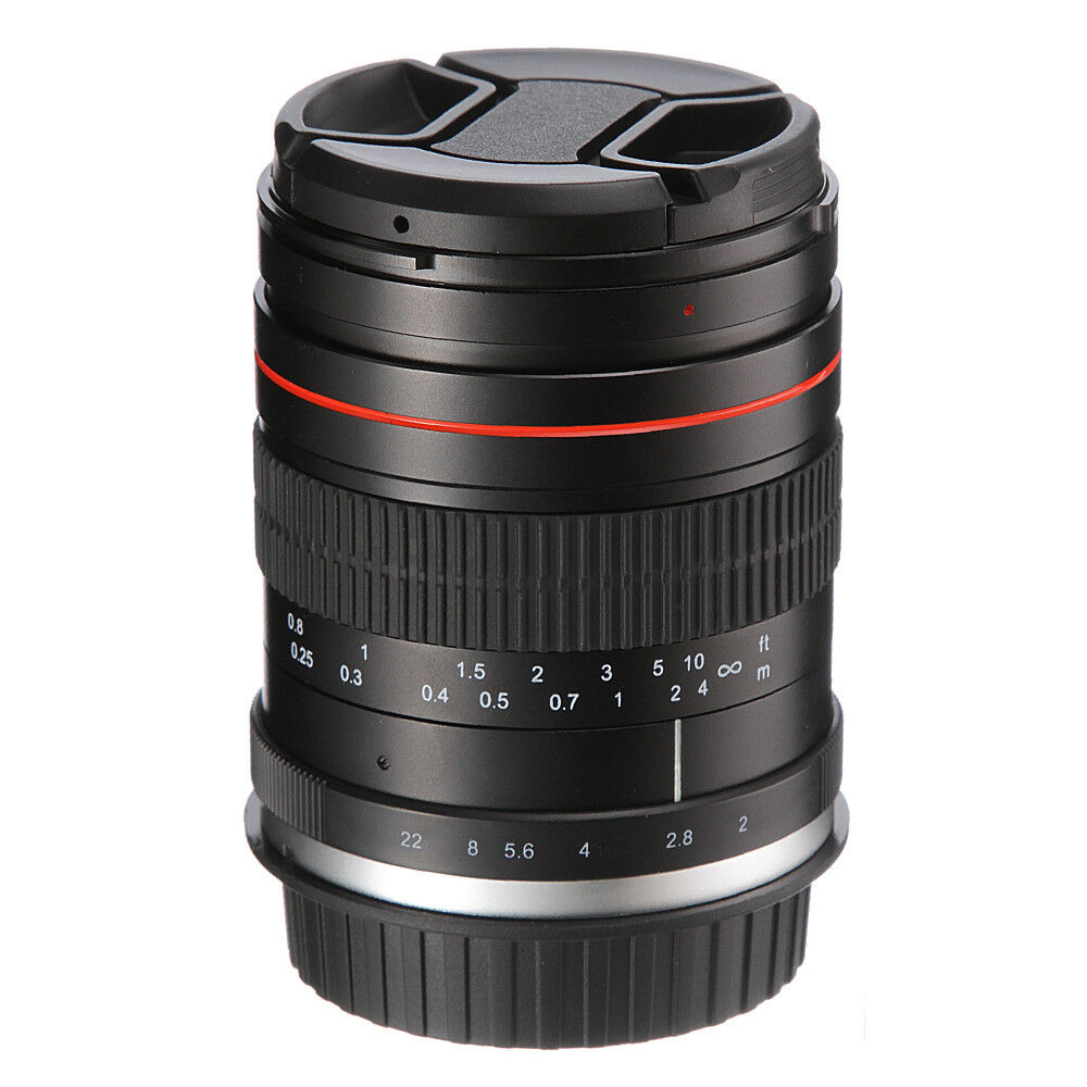 Details about 35mm F2.0 Manual Focus Prime Lens MF for Canon 6D II 5D Mark  IV III 5DsR 70D 60D