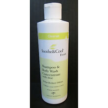 Medline SOOTHE & COOL Fresh Shampoo Body Wash No Rinse CONCENTRATE 8oz *READ*