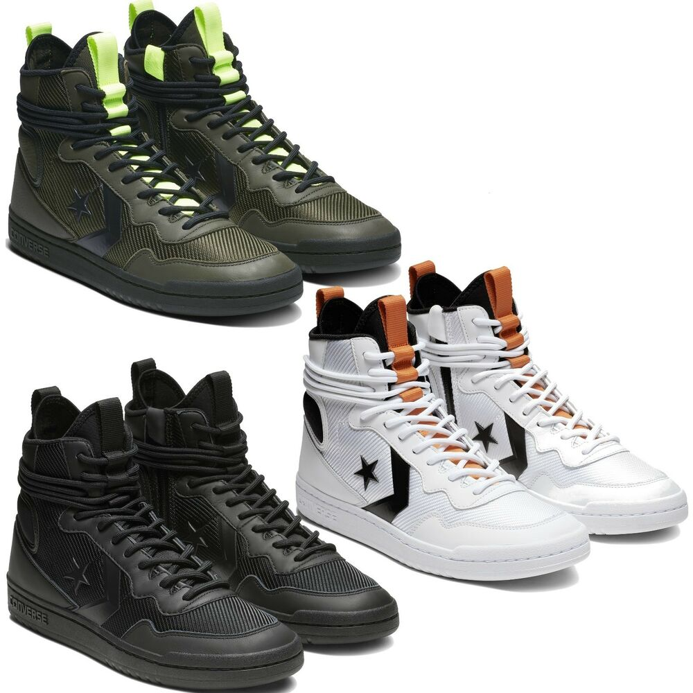 e0bd30d2477 Details about Converse Fastbreak Cascade Leather High Top Men s Shoes  Lifestyle Comfy Sneakers